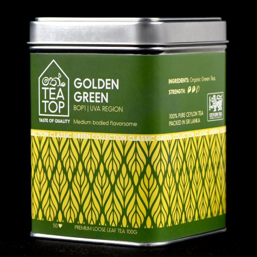 Golden Green Organic Tea